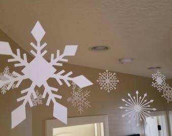 White Snowflakes (cardstock)