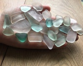 Scottish sea glass , authentic sea glass , genuine sea glass , sea glass pieces , coastal decor , jewellery supplies