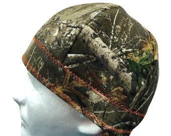 Welding Cap Realtree Camo Handmade Reversible Camouflage Hat by Valiska  Designs 9960473bd331