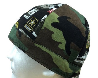 Welding Cap U.S. Army Camo Handmade Reversible Hat by Valiska Designs ef5c84ab9c50