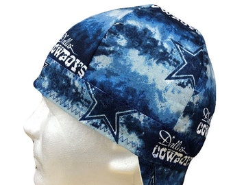 cc71e30e39b Welding Cap Dallas Cowboys NFL (Style  5) Reversible Hat Handmade by  Valiska Designs