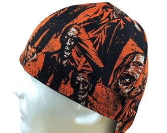 cceedda5310 Welding Cap Zombie Living Dead Reversible Hat Handmade by Valiska Designs