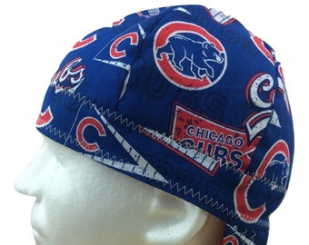 131076bbfc207 Welding Cap Chicago Cubs MLB Reversible Hat (Style  3) by Valiska Designs