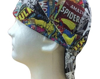 992afb72b25 ... adjustable snapback baseball cap b3b9b 7ecbd  low cost welding cap  comic book marvel reversible hat handmade by valiska designs 49b57 91517