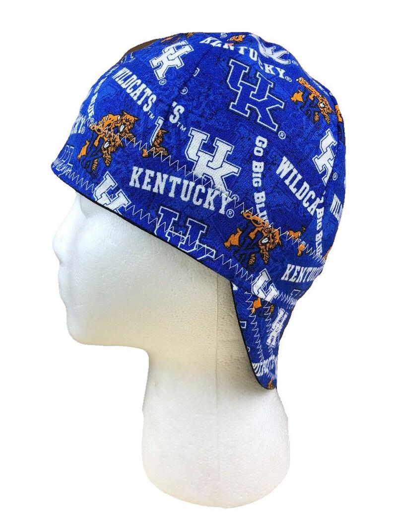 5904400eee2ae Welding Cap Kentucky Wildcats UK Reversible Hat Handmade by