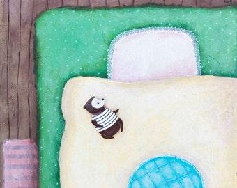 Instant Art Download / Printable art / Wall art / Under the Blanket / Guardian