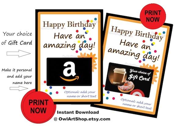 Happy Birthday Card Holder Amazon Gift Amazing