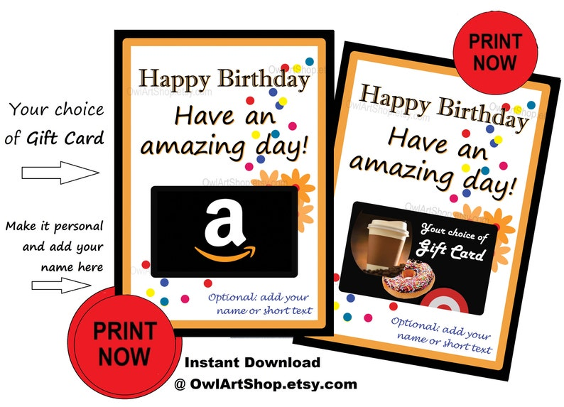 Happy Birthday Card Holder Amazon Gift Amazing