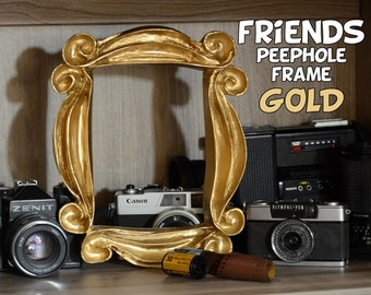 FRIENDS tv show frame friends peephole frame friends door frame GOLD edition wedding gift for her gift mom regalo de aniversario