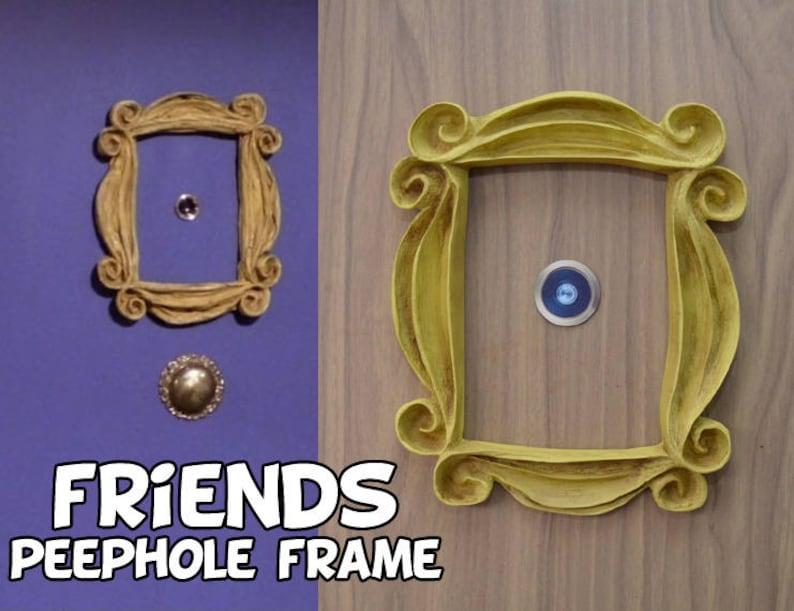 VINTAGE STYLE Friends tv show frame friends peephole frame image 1