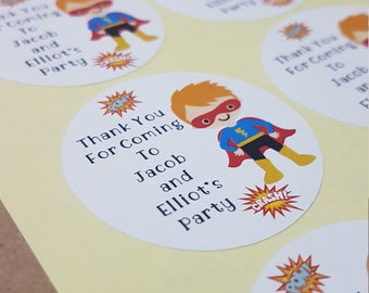 party bag stickers etsy