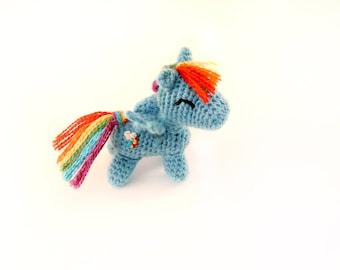 Tiny Pegasus/Unicorn/Pony/3 inches/merino/alpaca/custom