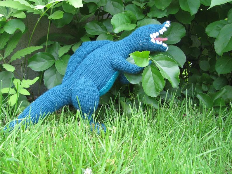 Spinosaurus Knitting Pattern image 0