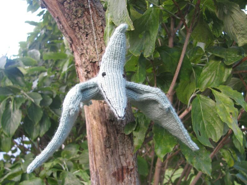 Pterodactyl Knitting Pattern image 0