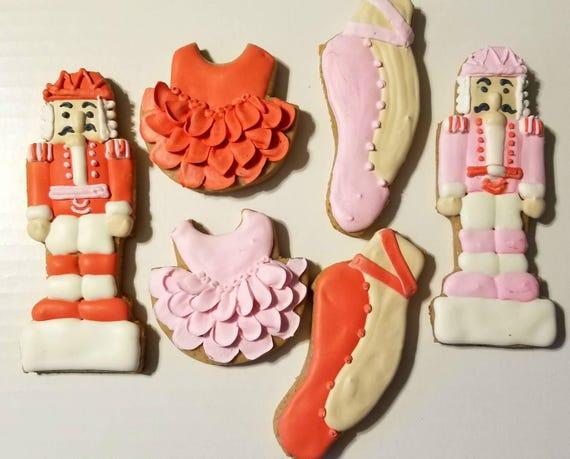 Nutcracker Ballet Cookies