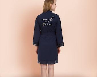 Jersey cotton robe  2b308c676