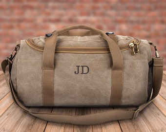 ce55ff2ef46 Personalized Duffel Bag, Men s Duffle Bag, Overnight Bag, Weekender Bag,  Groomsmen Gift, Dad Father Gifts, Carry On Bag, Anniversary Gift