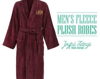 fc358b1960 Personalized Men s Fleece Robe