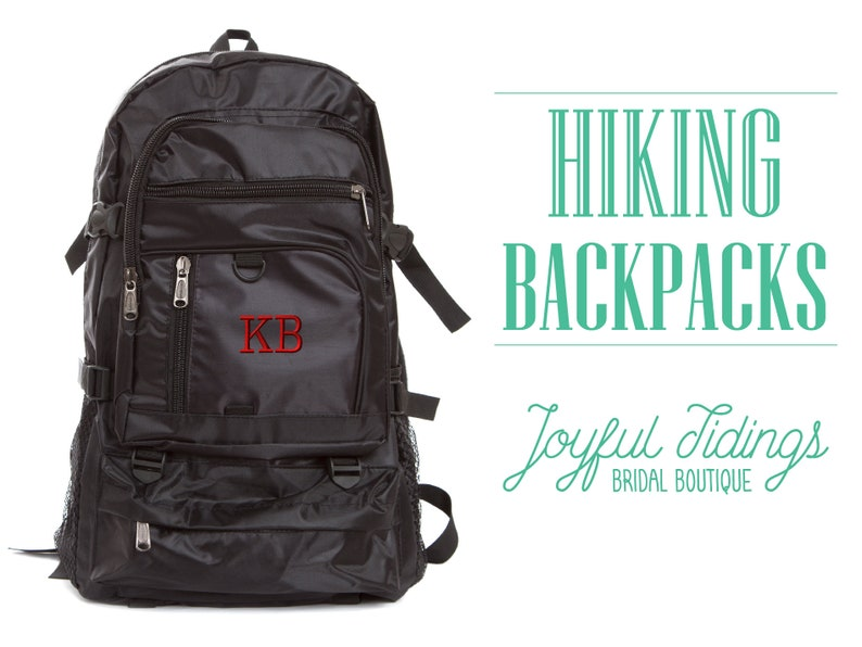 62cfd5d5df SALE Personalized Hiking Backpack Durable Backpack Rugged