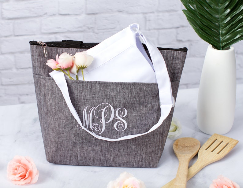Back to School Gift Personalized Lunch Tote Insulated Lunch image 0