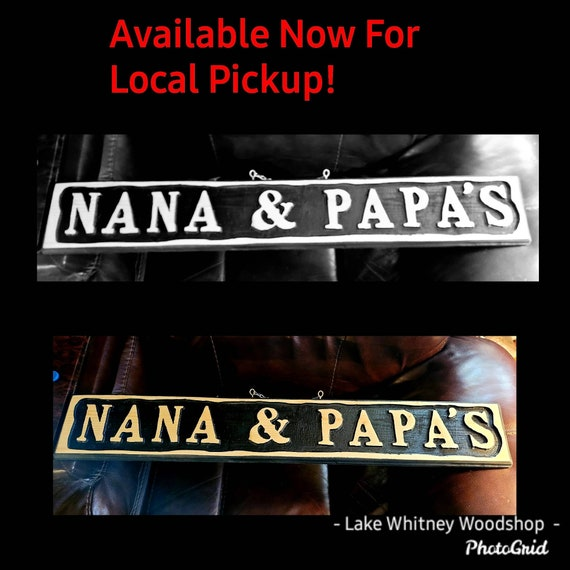 Nana Mimi Gigi Custom Signs Rustic Signs Wood Signs Etsy