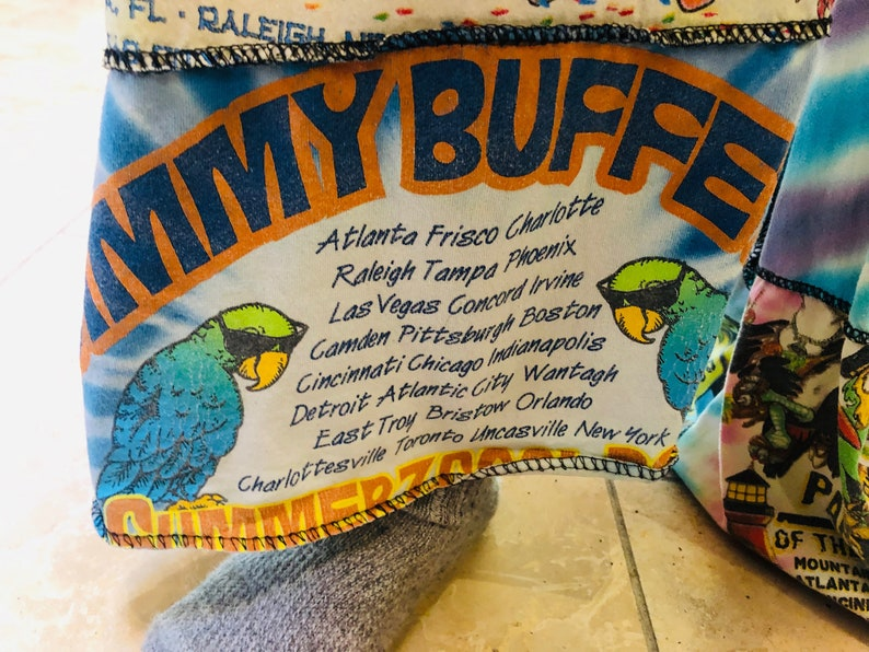 Jimmy Buffett Patchwork Pants