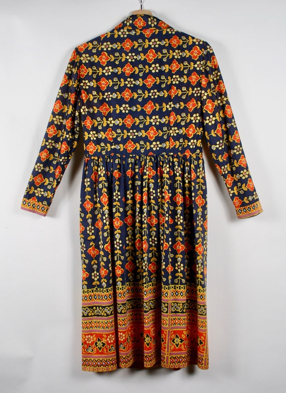 1960s Oscar de La Renta Boutique Floral Dress - image 4