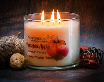 PUMPKINPALOOZA Pumpkin Scented 3 Wick Candles