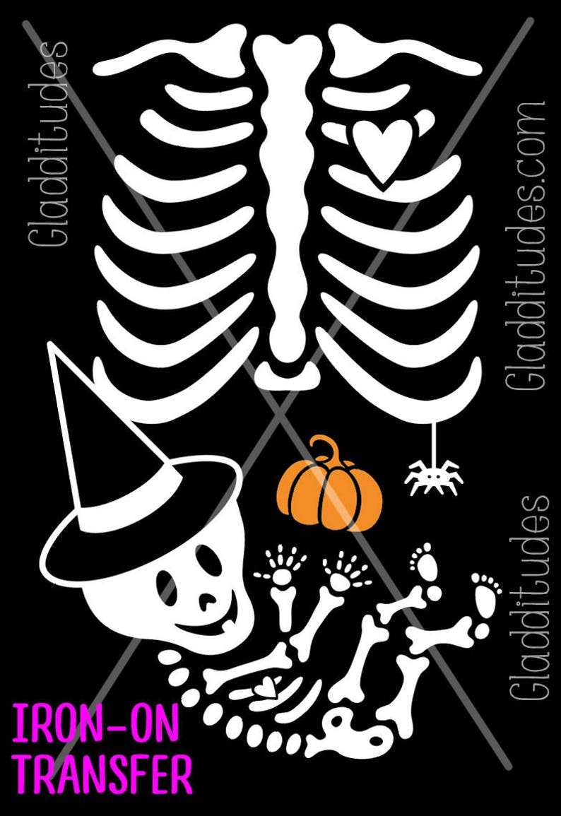 3aa53c42b218b DIY Halloween Costume Iron-on Transfer Skelly Baby Witch   Etsy