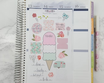 Planner Sample Sheet/ All Planners/Planner Stickers/ Girly