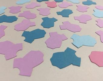 Confetti | Baby clothes | Babyshower party | Decoration | Babyboy | Babygirl