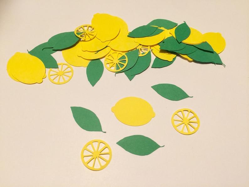 fresh lemons party Bridal shower Lemons confetti lemonade Babyshower yellow theme Party yellow decor Wedding