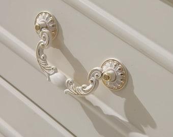 82mm x 12mm metal Arch bridge 65mm Hole Centers vintage drawer pulls Cabinet Pull Handles  Vintage Furniture Knobs Handle DP0043