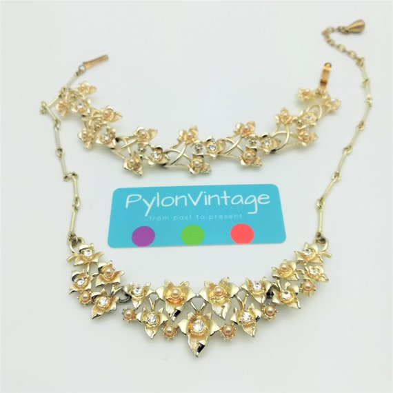 Wedding Bridal Cream White Pearls Multi Chains Levels Choker Necklace N185