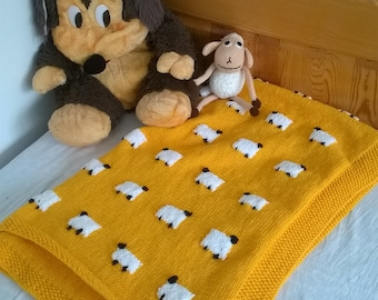 868c393f452e Sheep wool blanket