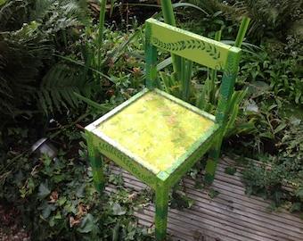 OOAK magical woodland fairy chair