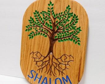 Shalom Tree of Life Sign