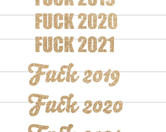 New Year Eve Party Decorations Banner, Fuck 2020 New Years Eve Decorations, Funny New Years Eve Banner   Backdrop, New Years Eve Party