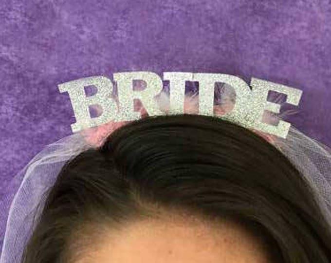 Bachelorette Veil, Bride Veil, Bachelorette Crown, Bride To Be, Bachelor Veil, Bride Headband, Bride Crown, Groom Crown, Bachelorette Party