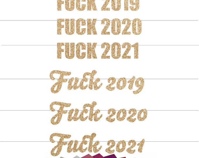 Fuck 2019 Banner, Fuck 2020 New Years Eve Decorations, New Years Eve Banner, New Years Eve Backdrop, New Years Eve Party 2021  fuck you