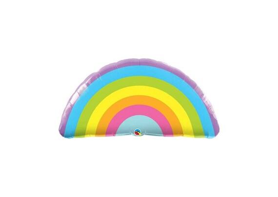 f1c0a8ab753 Pastel Rainbow balloon Pride Balloon HUGE foil rainbow