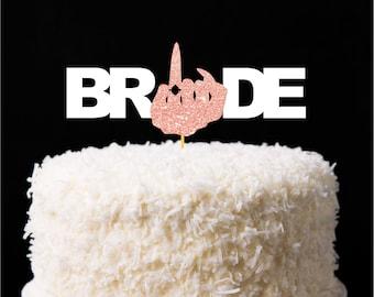 Ring Finger Cake Topper, Bachelorette Party Banner, Bride or Die, Engaged AF, Bride Banner, Engagement Ring Party decor, Cruise door decor
