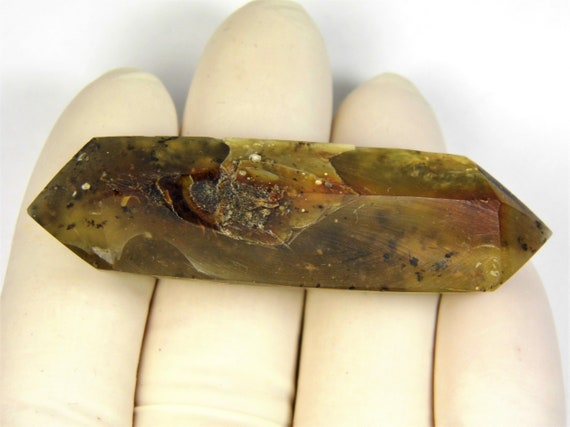 Natural genuine Baltic Amber point 10 grams unpolished stone gemstone authentic unique 2992