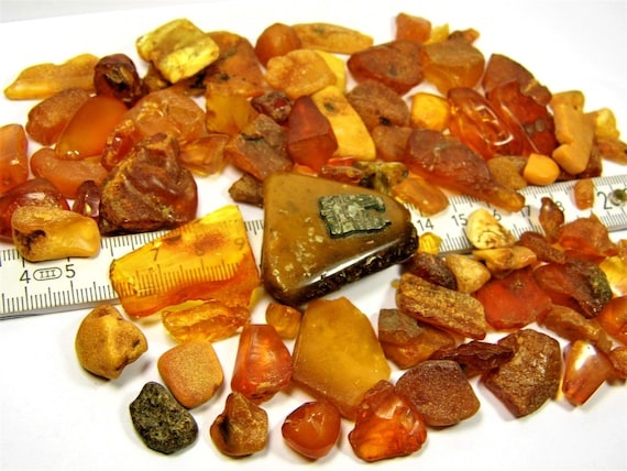 Natural Baltic Amber stones 100 grams genuine old vintage retro antique authentic beads lot FREE SHIPPING 2381