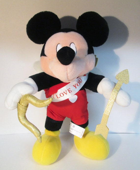 Mickey Mouse Cupid I Love You Valentine S Day 14 Etsy