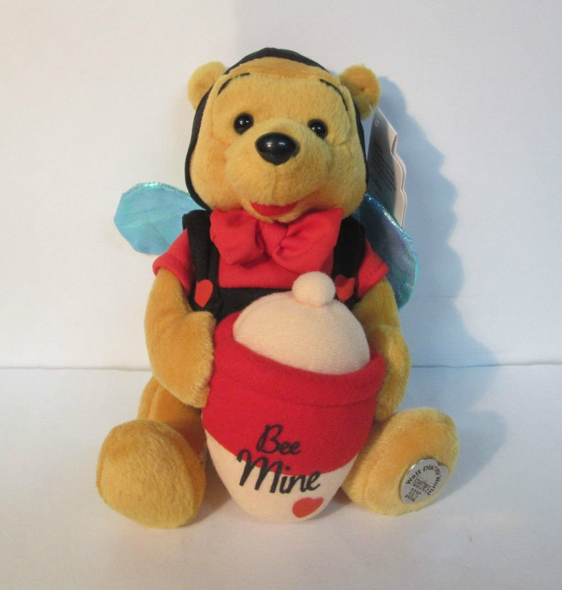 Cool Disney Bean Bag Plush Winnie The Pooh Bumble Bee Valentine Forskolin Free Trial Chair Design Images Forskolin Free Trialorg