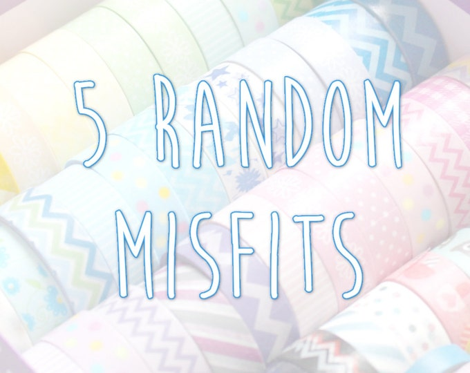 Planner Stickers Random Misfit | Miscut Grab Bag (5 Sheets)