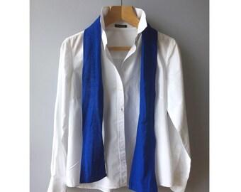 ada47811d28950 Linen SKINNY SCARF Small Linen Schal Sommer-Nackenschal Linen  Nacken-Krawatte Thin Leinen Schal für Männer Organic Vegan Natural Boho