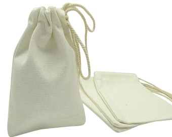4 x 6 Plain Canvas Pouch 1312f3ee5e81d