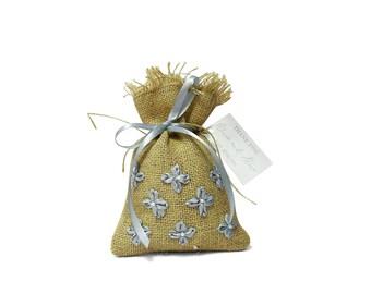 Wedding Party Favor Bags, Burlap Favor Bag, Wedding Favor Bags With Custom Tags, Rustic Wedding, Bridal Shower Favor Bags, 20 Jute Bag FAB4